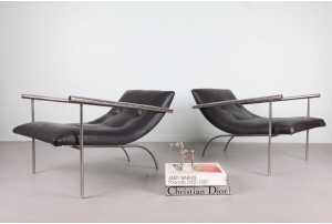 Pair of Avante-Garde 1970s Armchairs