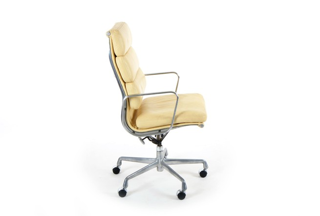 Eames Soft Pad Aluminium Group Chair