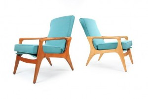 Two Fler SC58 Armchairs