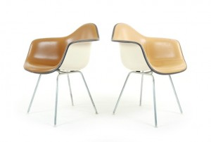 Eames DAX Chairs for Herman Miller
