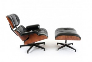 Eames Lounger 670 and Ottoman 671
