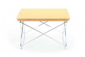 Eames LTR 'Gold Leaf' Occasional Table