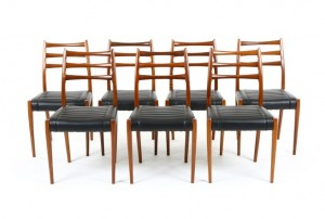 Eight Fler Dining Chairs