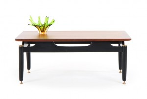 G-Plan Tola and Black Coffee Table