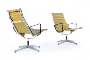 Eames Aluminium Group Lounge Chair