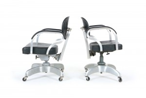 Emeco Industrial Tanker Style Office Chairs