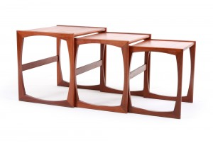 G-Plan 'Quadrille' Nesting Tables