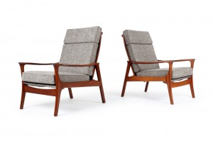 Pair of DON 'Concord' Armchairs