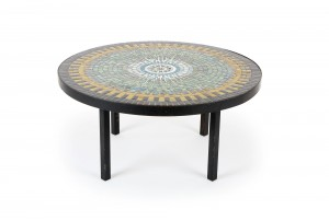 Epic John Crichton Mosaic Tile Coffee Table