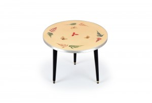 John Crichton Butterflies and Leaves Side Table