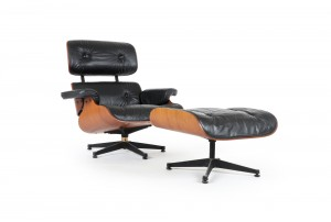 Eames Lounger and Ottoman by Whitmores Arti Domo