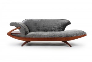 Mid Century Cleopatra Chaise