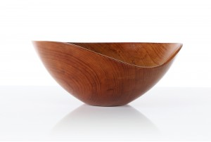 Sculpted Kauri Bowl by John Crichton