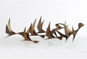 Rare Curtis Jere 'Birds in Flight' Sculpture