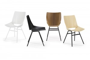 Shell Dining Chair by Niko Kralj