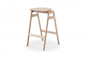 Ercol 'Svelto' Stacking Bar Stool