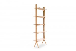 Ercol 'Pero' Tall Shelving Unit
