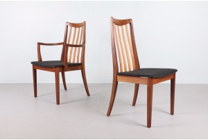 Six G-Plan Fresco Dining Chairs