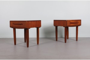 Pair of G-Plan 'Fresco' Bedside Cabinets