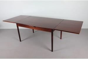 Substantial Danish Rosewood Dining Table