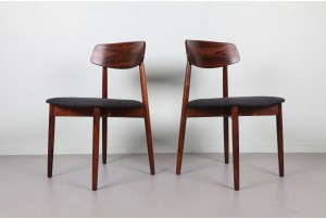 Six Harry Østergaard Rosewood Dining Chairs