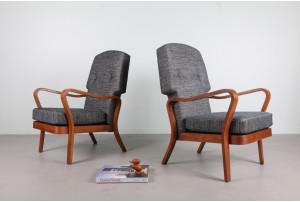 Pair of Rare Post-War British 'Tecta' Armchairs