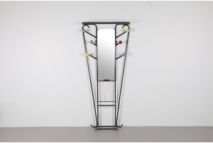 French Atomic Style Coat Stand