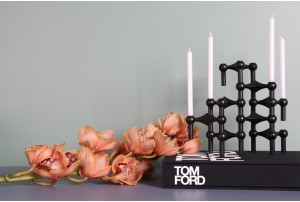 Stoff Nagel Model S22 Candlestick Holders – Black