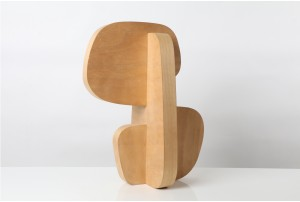 Gidon Bing Steam Bent Plywood Sculpture