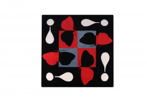 Richard Killeen Moth Rug (Exclamation) for Dilana