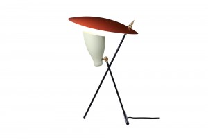 Warm Nordic 'Silhouette' Table Lamp