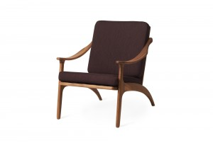Warm Nordic 'Lean Back' Armchair