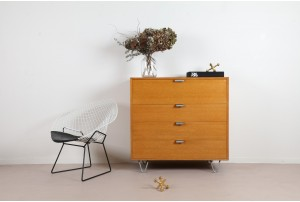 George Nelson 'Model 4623' Drop-Front Drawers