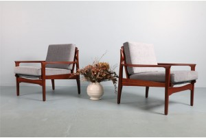 Pair of DON Low-Back Narvik Armchairs