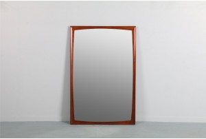 Bold American Walnut Mirror