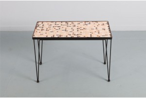 John Crichton Mosaic Side Table