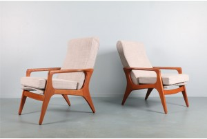 Pair of Fler 'SC58' Armchairs