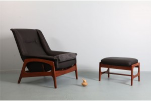 DON 'Dux' Armchair and Ottoman