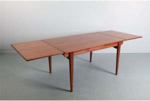Substantial Danish Teak Dining Table