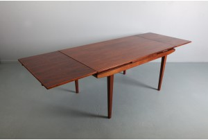 Linear Danish Rosewood Dining Table