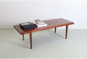 Sharp Severin Hansen Jr. 'Model 44' Rosewood Coffee Table