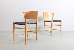 Six Tom Stepp 'Jive' Dining Chairs for Kvist Mobler