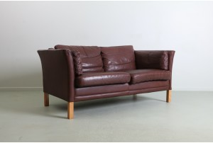 Mogens Hansen 'MH2225' 2 Seater Danish Leather Sofa