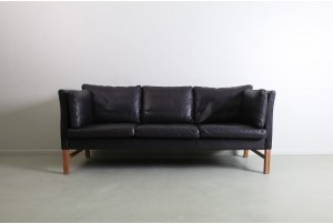 Stunning Skipper Møbelfabrik Danish Leather Sofa