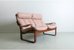 Refined Fred Lowen 'T8' Two Seater Sofa for Tessa