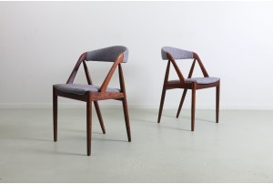 Six Kai Kristiansen 'Model 31' Dining Chairs for Schou Andersen