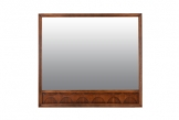 Grand Broyhill Brasillia Walnut Mirror