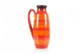 Scheurich Red/Orange Floor Vase