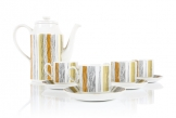 Midwinter 'Sienna' Coffee Set