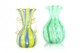 Two Murano Glass Vases